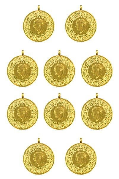 Ahlatcı Sarrafiye - 10 Adet Yeni Tarihli Yarım Altın