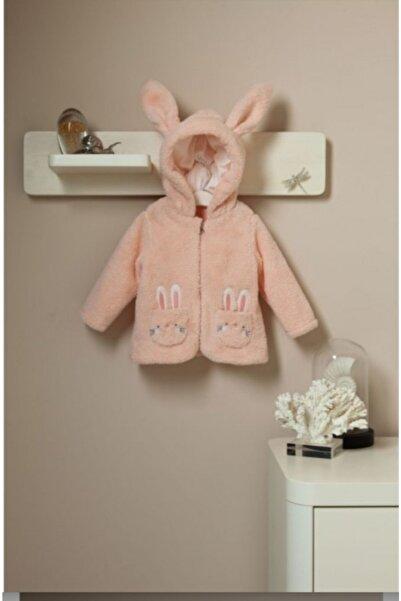 Bibaby Kız Bebek Kapüşonlu Ceket
