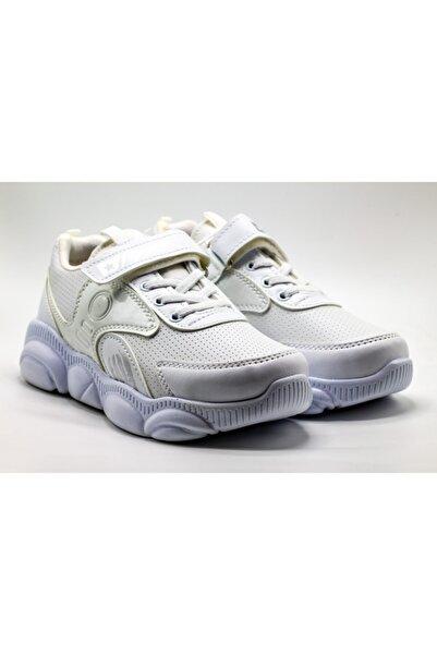 Almera Ayakkabı Unisex Çocuk Beyaz Spor Ayakkabı