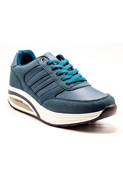DUNLOP Unisex Mavi Yüksek Taban Spor Ayakkabı