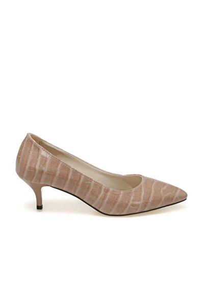 Butigo Dipper Pudra Kadın Topuklu Ayakkabı
