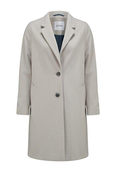 American Vintage Kadın Bej Uzun Ceket
