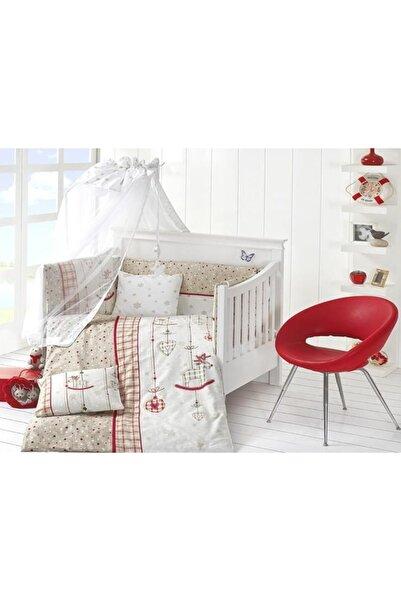 First Choice Unisex Bebek Kırmızı Palmy Uyku Seti