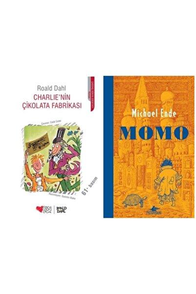 Can Yayınları Charlie'nin Çikolata Fabrikası - Momo ( Pegasus Yayınları) ( 2 Kitap Set )