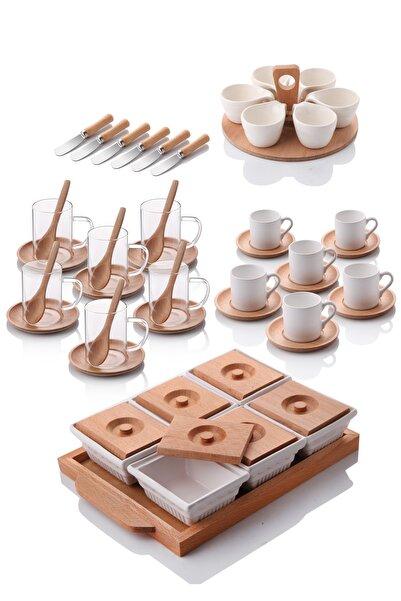 Queen's Kitchen 56 Parça Full Kahvaltı Takımı