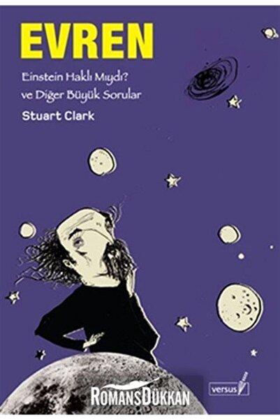 Versus Kitap Yayınları Büyük Sorular Evren - Stuart Clark 9786055691646