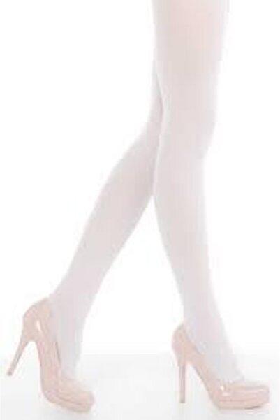 NBB Kadın Beyaz Mıcro 40 Opak Muz Külotlu Çorap  6 Lı 9032