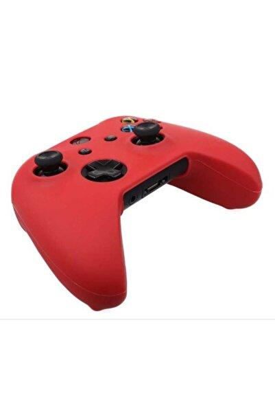 Konsol İstasyonu Kırmızı Mat Görünümlü Xbox One / One S Kol Kılıfı - Xbox Oyun Kolu