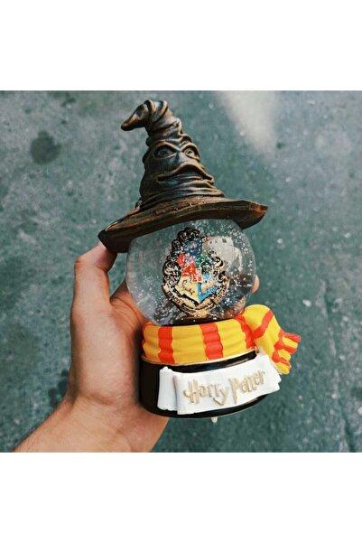 by rk tasarım Harry Potter Seçmen Şapka Işıklı Müzikli Büyük Kar Küresi