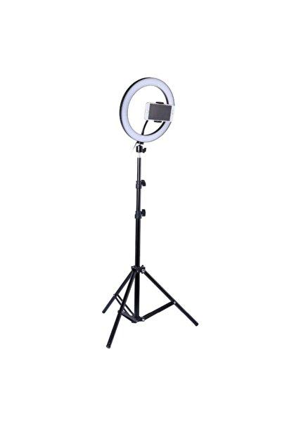 LUX LED Kuaför Youtuber Tiktok Led Makyaj Çekim Işık 2 mt Stantlı Stüdyo Işığı