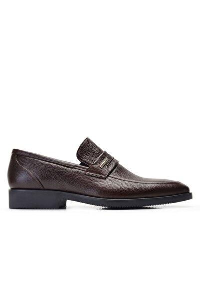Nevzat Onay Erkek Kahverengi Hakiki Deri Günlük Loafer Ayakkabı