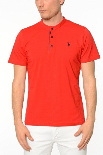 Dewberry Erkek Kırmızı T-Shirt - 2090001T8538