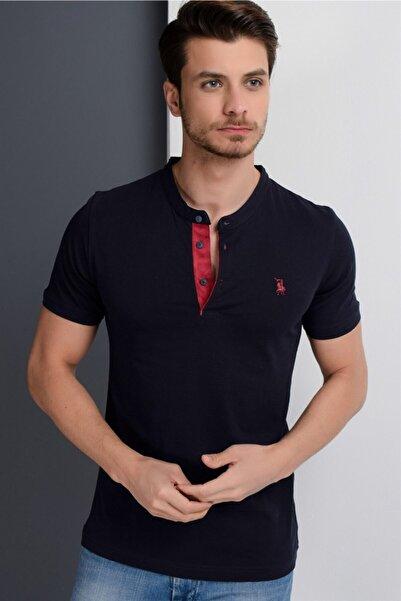 Dewberry Erkek Lacivert T-Shirt - 2090001T8560