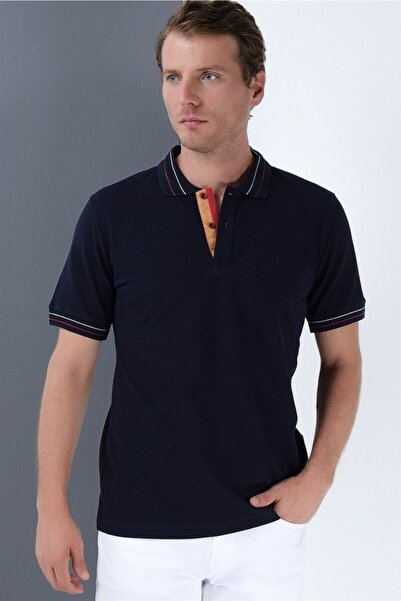Dewberry Erkek Lacivert T-Shirt - 2090001T8567