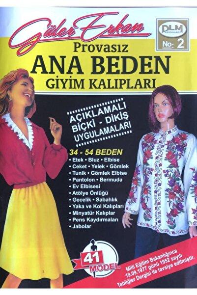Dilem Yayınları Güler Erkan Ana Beden Provasız Giyim Kalıpları