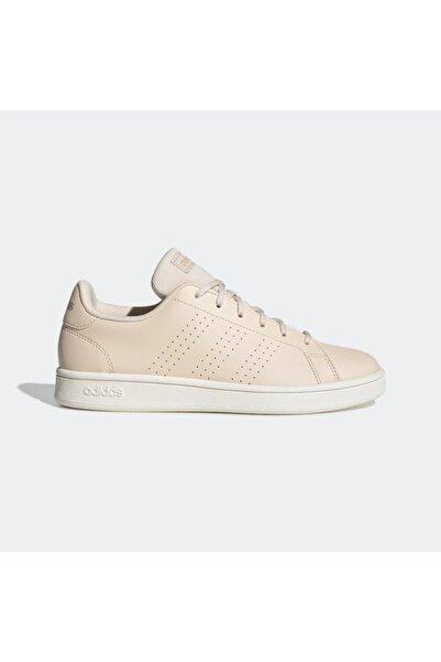 adidas Kadın Bej  Advantage Base Ayakkabı Ee7502