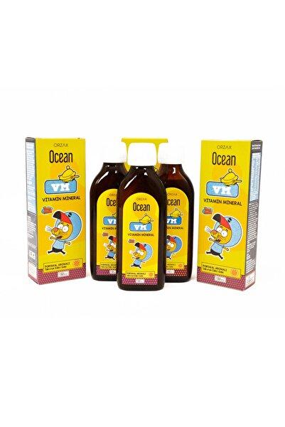 Ocean Vm Vitamin Mineral Şurup Kral Şakir 3 Adet