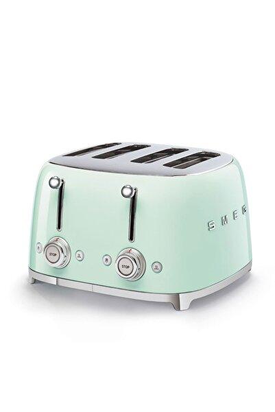 SMEG Pastel Yeşil 4 Dilimli Ekmek Kızartma 50's Style