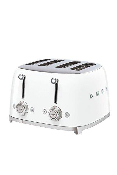SMEG Beyaz 4 Dilimli Ekmek Kızartma 50's Style