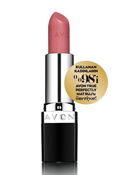 AVON True Perfectly Mat Ruj - Pure Pink