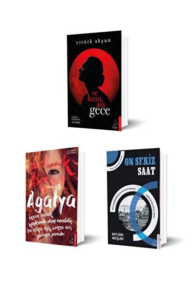 Destek Yayınları Ertürk Akşun 3 Kitap Set