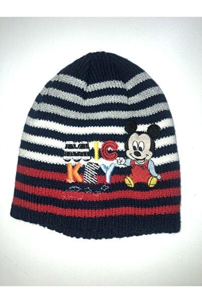 Disney Mickey Mouse Çocuk Lisanslı Içi Polarlı Bere