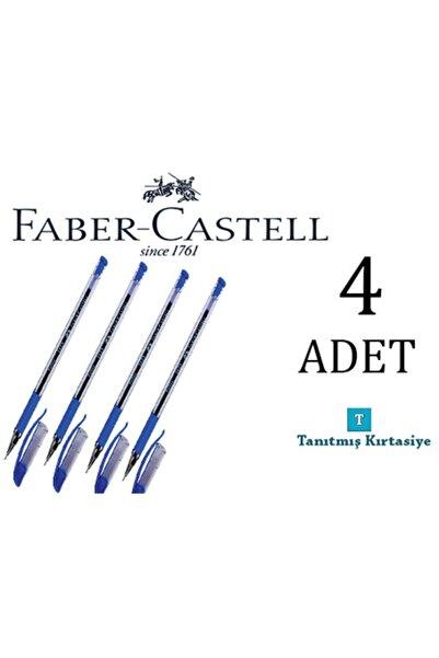 Pensan Faber Castell 4 Adet Iğne Uçlu Tükenmez Kalem 1425