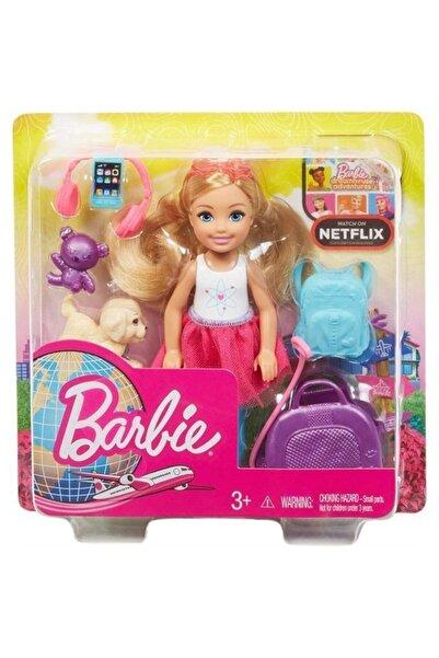 Barbie Seyahatte Chelsea ve Aksesuarları FWV20-FWV20