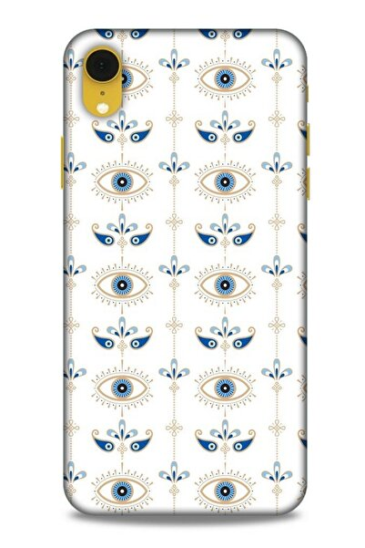 Lopard Desenli Silikon Kapak Iphone Xr Uyumlu Kılıf