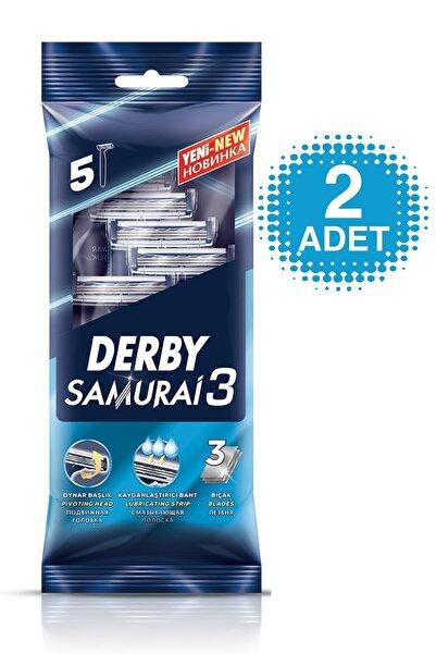 Derby Samurai 3 Bıçaklı 5'li Poşet
