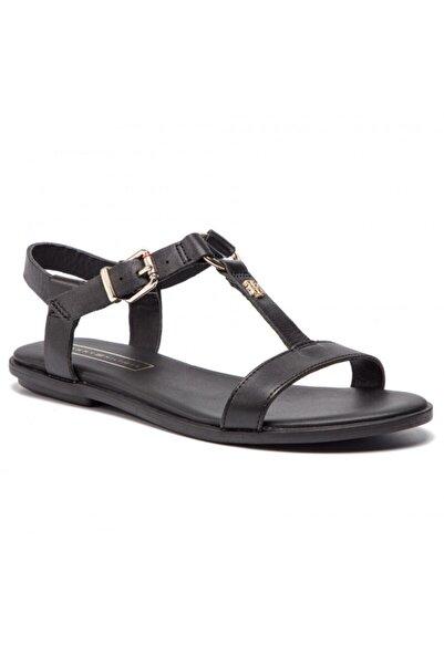 Tommy Hilfiger Kadın Deri Sandalet Fw0fw03946