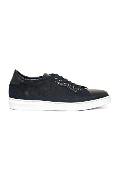 Giovane Gentile Erkek Siyah Bağcıklı Ayakkabı
