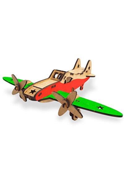 Halk Kitabevi Klasik Uçak Ahşap Maket
