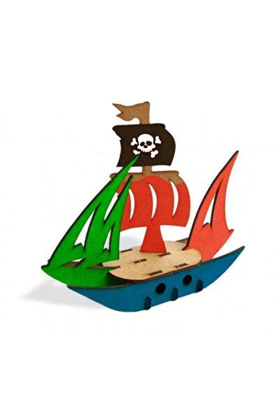Halk Kitabevi Korsan Gemisi Ahşap Maket