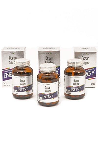 Ocean Daıly One Energy 30 Tablet X 3 Adet