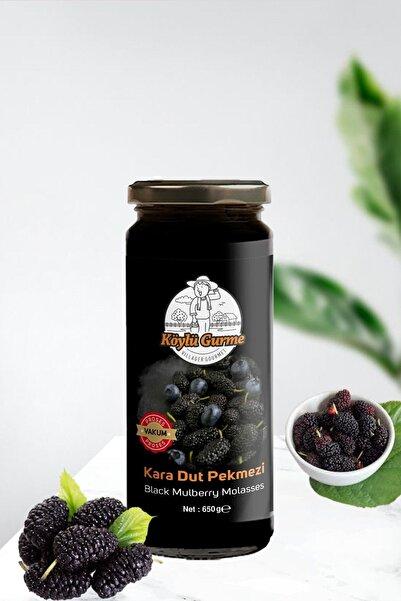 KÖYLÜ GURME %100 Doğal Kara Dut Pekmezi Katkısız 650 G Kavanoz Black Mulberry Molasses
