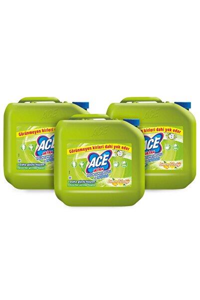 ACE Ultra Yoğun Kıvamlı Çamaşır Suyu Limon Tazeliği 3 Kg X 3 Adet