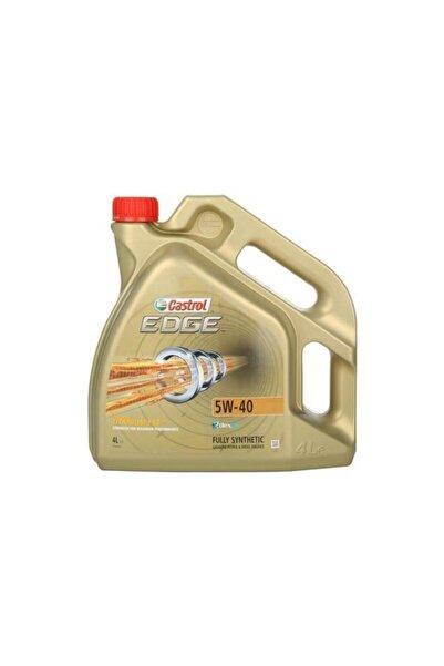 CASTROL Edge 5w40 Benzinli - Dizel Motor Yağı 4 L