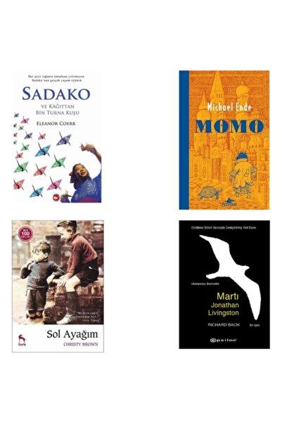 Beyaz Balina Yayınları Sadako - Sol Ayağım - Momo - Martı Jontahan Livingston 4 Lü Set