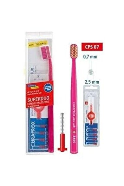 5460 Ultra Soft Pembe Ve Arayüz Fırçası No 07 7612412423945