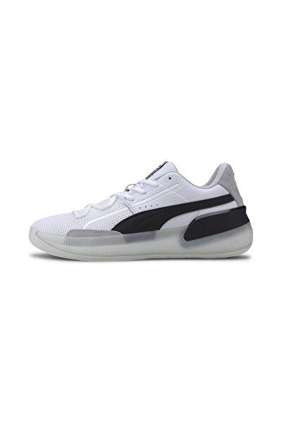 Puma Unisex Beyaz Clyde Hardwood Basketbol Ayakkabısı