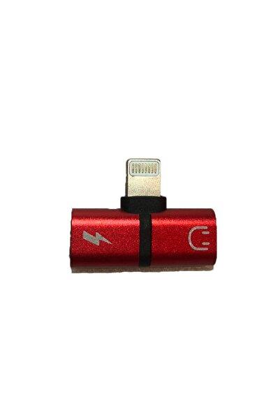 Platoon Uyumlu Iphone Lıghtnın Port Çoklayıcı Kırmızı Adaptör