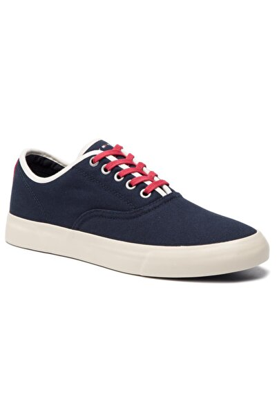 Tommy Hilfiger Erkek Sneaker Lacivert Core Retro Oxford Sneaker Fm0fm02216