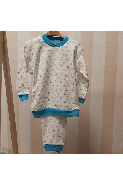 nazar baby Unisex Bebek Pijama Takımı