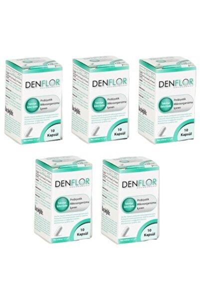 SERA Denflor Probiyotik 10 Kapsül - 5'li Paket