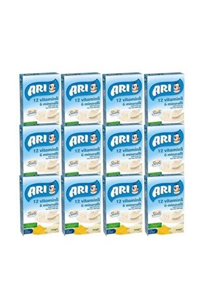 Arı Mama 200 Gr Sütlü Pirinç Unu 12'li Paket