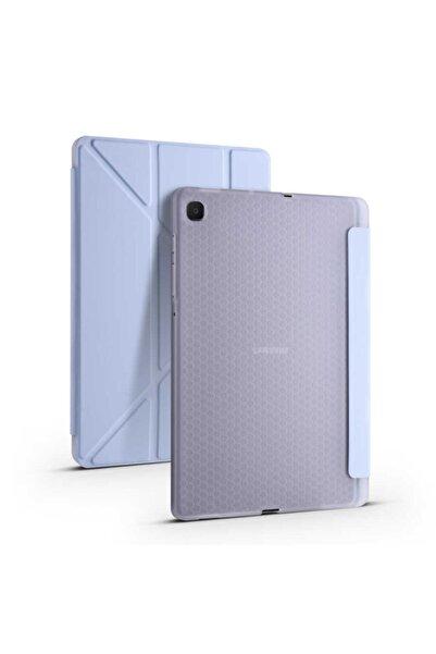 "Fibaks Samsung Galaxy Tab S6 Lite Sm-p610 10.4"" Kılıf Kalem Bölmeli Smart Standlı Yumuşak Silikon Koruma"