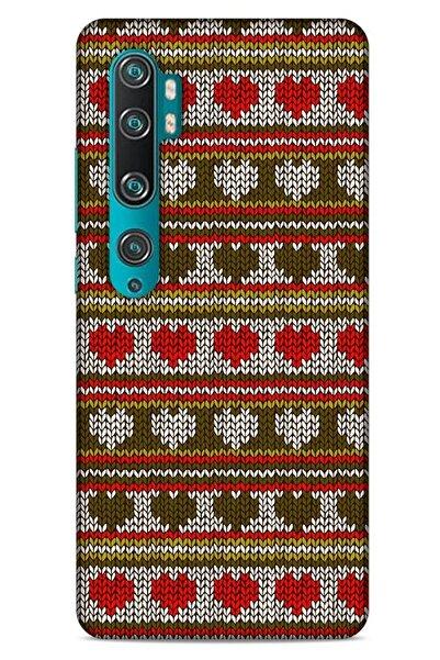 Lopard Kazak (10) Desenli Silikon Kapak Xiaomi Mi Note 10 Uyumlu Kılıf