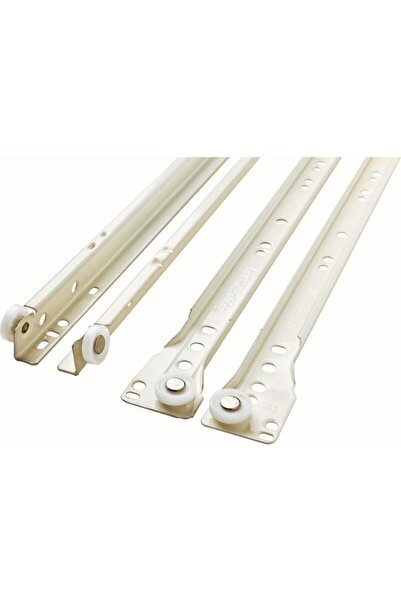 SAMET Çekmece Rayı Klasik Model Beyaz 45 Cm