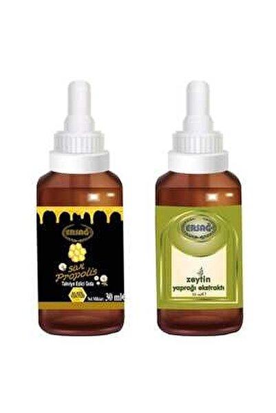 Sıvı Propolis Damla + Zeytin Yaprağı Ekstratı Damla